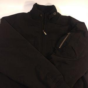 Perry Ellis Portfolio Bomber Jacket Size L